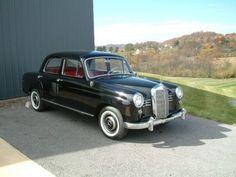 1957 Mercedes 180 Ponton
