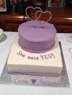 1000 Images About Engagement Party Cakes On Pinterest