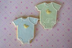 Baby Onesie Cookies | by Three Honeybees