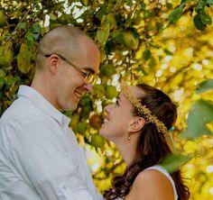 Bridal dried flower Crown Burlap twine ribbon ties by AmoreBride