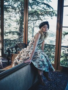Elle Fanning in C California Magazine Winter 2016 by Beau Grealy — Elle Enchanted