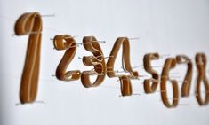 Rubber Band Font / Thad