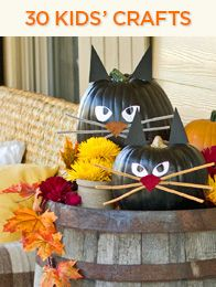 30 great kid craft ideas from HGTV