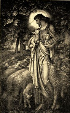 The Good Shepherd by Frederic Shields