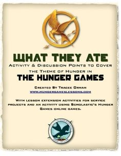 Here's a free worksheet/handout that goes along with the novel The Hunger Games by Suzanne Collins.  It's included with my complete unit, along wit...