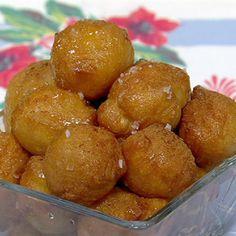 Michael Symon's Greek Donuts Holes Recipe #thechew