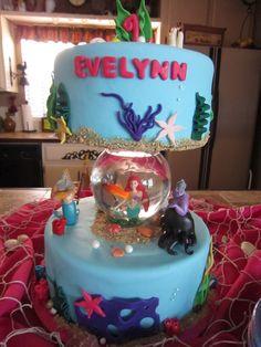 Goldfish Bowl Wedding Cake