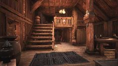 Post with 17 votes and 4067 views. Home Sweet Home Fantasy House, Fantasy Castle, Fantasy World, Viking Hall, Diy Esstisch, Viking House, Conan Exiles, Bg Design, Fantasy Places