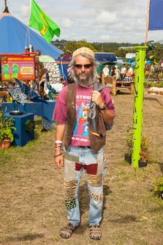 Glastonbury 2015: festival style – strong looks all round