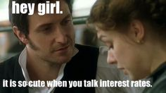 Oh my… Mr. Thornton why do you have to look at her like that *swoon*