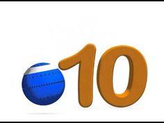 canción del 6 al 10. La pelota loca Youtube, Spanish, English, Songs, Math, School, Videos, Children's Literature, Musicals