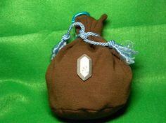 Legend of Zelda Inspired Rupee Bags -- Great gift bag idea!