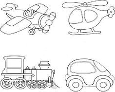 Illustration of Cartoon transport. vector art, clipart and stock vectors. Cute Coloring Pages, Coloring Books, Book Images, Baby Sewing, Vector Art, Transportation, Sewing Patterns, Royalty Free Stock Photos, Doodles