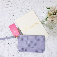 Lavender wristlet / wallet • Isaac Mizrahi • Brand new with tags ❕ Perfect as a holiday gift ✨ Isaac Mizrahi Bags Clutches & Wristlets