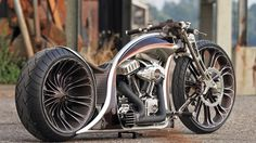 WORK OF ART Custom Harley Davidson Motorcycle!!!