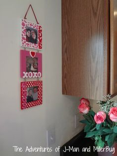 Cute Valentines Picture Frames