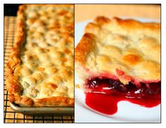 Cherry Slab Pie (Cherry Pie for a crowd)