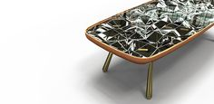 andré teoman kaleidoscope table designboom