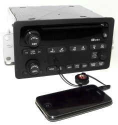 Chevy Car 2000-2005 Radio AM FM CD w Upgraded Aux 3.5mm iPod Input  sc 1 st  Pinterest & Ford Fusion Car Radio Removal Guide Repair and Others | Ford ... markmcfarlin.com