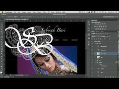 Working With Logo Designs in Photoshop - YouTube