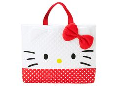 Hello Kitty School Kids Quilt Tote Bag SANRIO