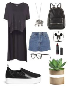 """I was thinking about Maju Trindade"" by alicemarianaa on Polyvore featuring Topshop, Accessorize, Pedder Red, PhunkeeTree, STELLA McCARTNEY, Oliver Peoples and Monki"
