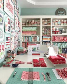 Hobby Room craft room Selecting A Canopy home improvement,canopy Article Body: A canopy can add a to Sewing Room Design, Craft Room Design, Sewing Spaces, My Sewing Room, Sewing Studio, Sewing Rooms, Sewing Room Organization, Studio Organization, Craft Room Storage