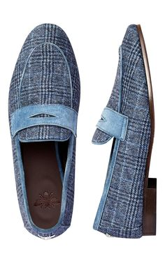 471a9ff370b Flaneur Loafer In Cashmere And Suede by BOUGEOTTE for Preorder on Moda  Operandi Tassel Loafers