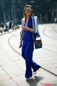 Our Favorite Street Style Looks from Milan Fashion Week #sosamanthajones