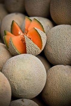 Cantaloupe by OTTOKALOS via codiceotto.tumblr.com