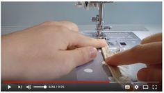 Couture : poser un passepoil à la machine à coudre