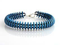 Náramky - Mesiačikový modrý - obojstranný - 6338122_