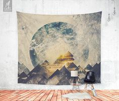 One mountain at a time Wall tapestry  Beautiful by HappyMelvin