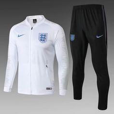 2e6e39d6 England 18/19 Climawarm White Men Jacket Tracksuit Slim Fit 2 Nike Jacket,  18th