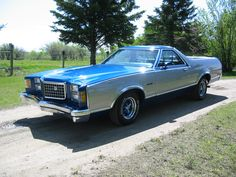We had one of these1977 Ford Ranchero GT, 460 c.i.