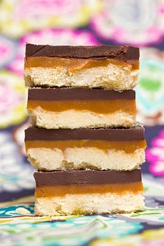 Homemade twix - one of my two fav candybars - wonder how much like the real thing it does taste.  (maybe I should just stay away!)