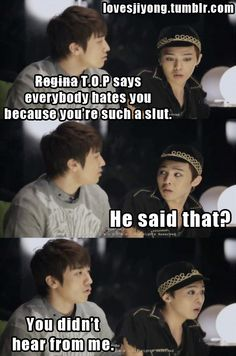 oooh... just got told! kekeke! Big Bang