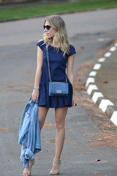 Glam4You por Nati Vozza   Meu look: Blue