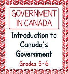 Three texts and five activities about the structure of Canadas government make up this resource. Three topics are covered: How Canadas Government Works, Voting, and The Three Levels of Government in Canada (Federal, Provincial/Territorial, and Municipal). Levels Of Government, Government Of Canada, 5th Grade Social Studies, Teaching Social Studies, All About Canada, Rights And Responsibilities, 6th Grade Science, Canadian History, Study History