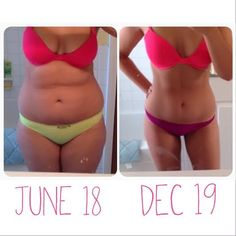 Before and after weight loss inspiration: What you can accomplish in 6 months.