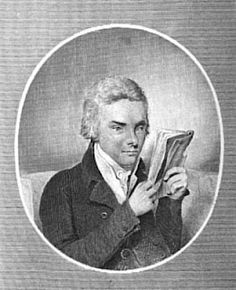 William Wilberforce in the early 1800s, an engraving from a drawing by Henry Edridge (who also drew Pitt.)