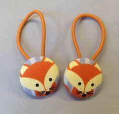 1 1/8 Size 45 Orange/Light Yellow/Grey Fox Fabric by RatDogInk, $6.00