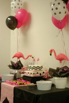 Flamingo Party - this just reminded me of something...  ;)
