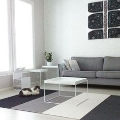 Woodnotes Fourways paper yarn carpet. Living room. Nordichome.
