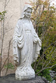 Our Lady of Grace, now at Kyoto Notre Dame University, was created in 1949 from a photo supplied by the sisters in Japan.