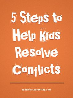 I've always considered myself non-confrontational and have done my best to avoid conflict. In researching ways to teach kids conflict resolution skills, I've discovered that avoidance is actually a…