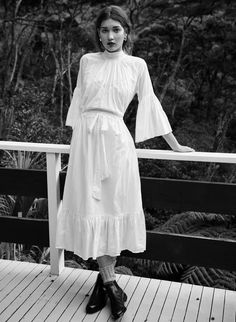 look through this collection by New Zealand label Mahsa and tell me you don't want to wear a blouse RIGHT NOW. designer Mahsa Willis previously worked as a film producer for 20 years before turning…