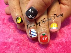 Back to School Nails 2013