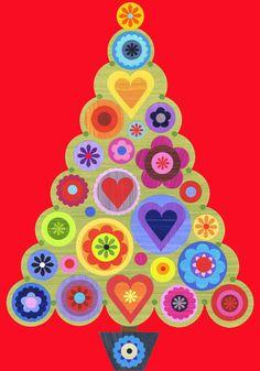 Ellen Giggenbach: christmas tree art