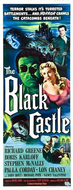 """""""THE BLACK CASTLE """". (1952)"""